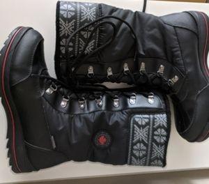 Cougar - Black Waterproof Winter Boots